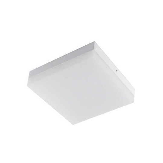 Plafón LED superficie Cuadrado 18W 120°